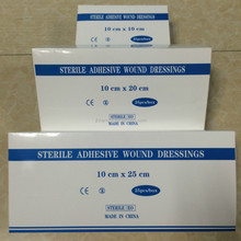 Disposable sterile Non-woven Wound Dressing strip for hospital care