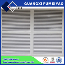 Aluminum frame Fixed type Window Shutter Transom Window