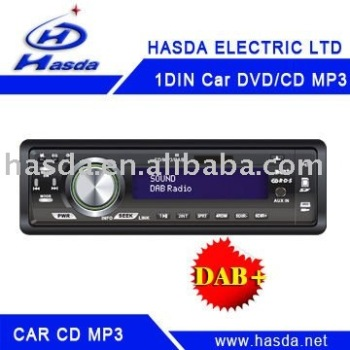 one din car CD MP3 DAB 1 din LCD Display car DAB CD/DAB/DMB/RDS/SD,USB mp3 player