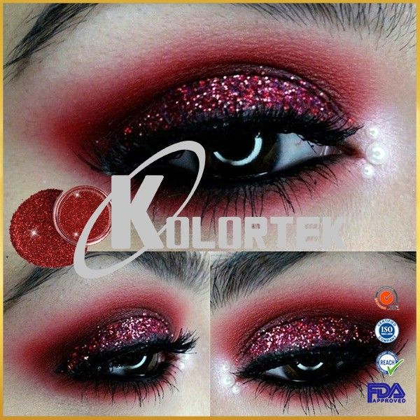 Private label special package eyeshadow glitter pigment powder for cosmetics