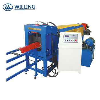 Metal Sheet Roof Ridge Cap Roll Forming Making Machine