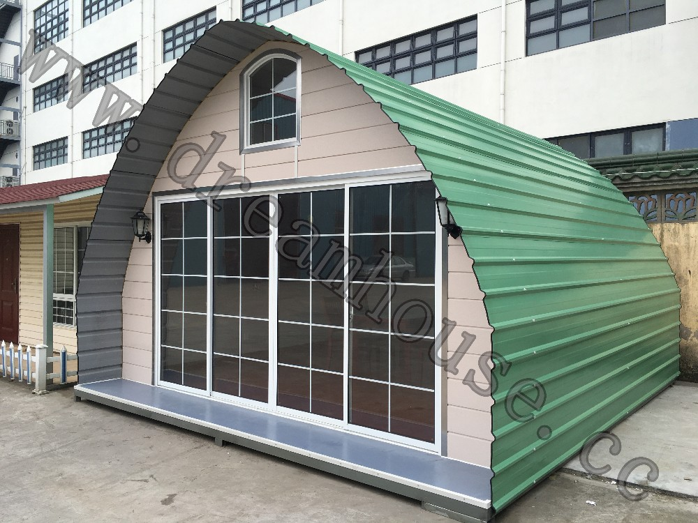 China Cheap Dome Prefab Cabin House Modern Arched Cabin