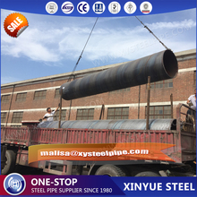 Alibaba.com Q235 ssaw erw 200mm diameter mild steel pipe used as construction material specification