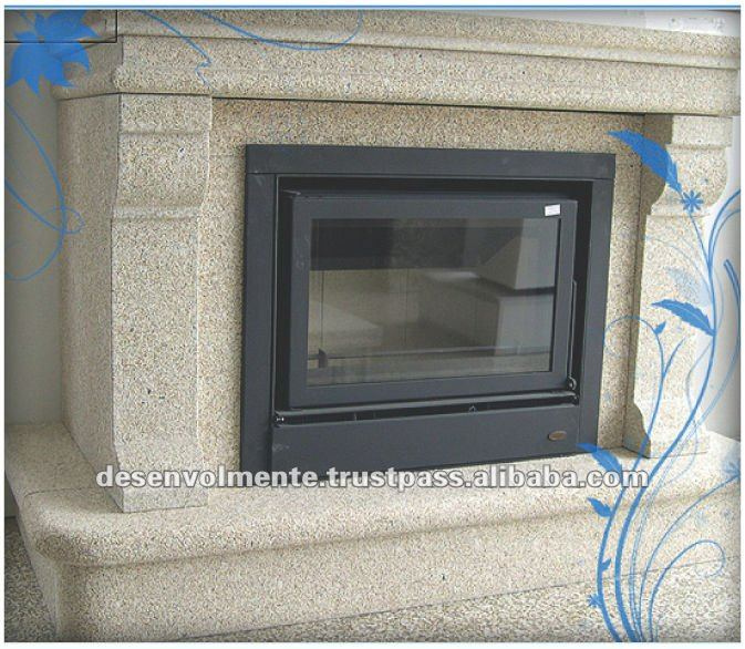 Natural Stone Home Use Granite Tile Fireplace for Houses