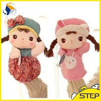 EN71 New Arrival Plush Hand Puppet Custom Plush Doll Baby Toys Birthday Gifts for Kids ST1642511