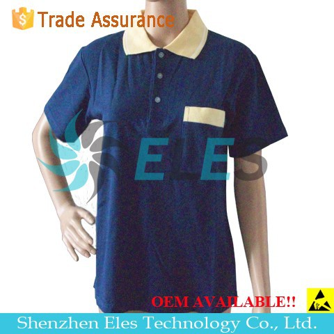 Best price esd t-shirt polo t shirt