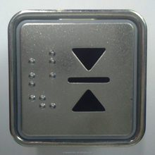 Square elevator push button MT42 with braille Top10 Elevator Parts Supplier In China