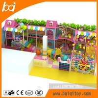 Candy mini children indoor playground furniture