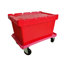 With Big LOGO Organization Stackable Plastic Storage Box For Storage