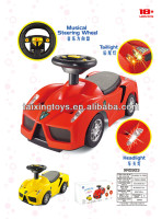 Kids car toys Licensed R/C and Electric Ride on Car with Music and Light