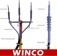 35KV Cold Shrinkable Cable Termination Kits / Accessories