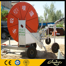 Newly Hose Reel Irrigation Mobile Farm Agriculture Spray Machine
