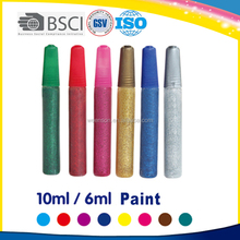 10ml 6colors acylic paints for acrylic painting