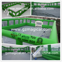 outdoor sport games football new inflatable soccer field for sale