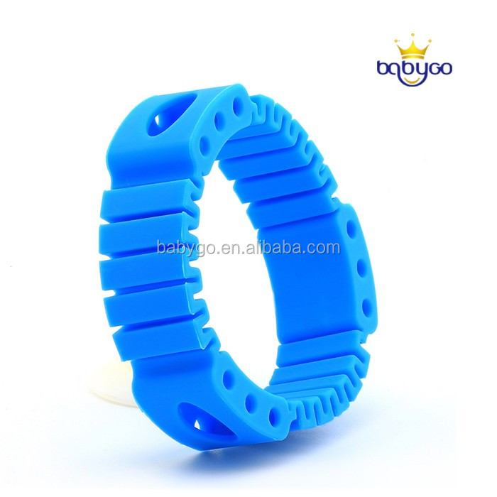 Non toxic insect repellent bracelet with 3 natural oil refill with all color avaliable