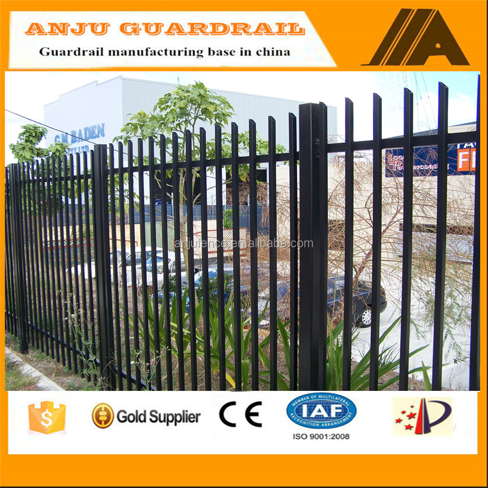 security fence-005 Eco-friendly,Trellis&gates type steel plate fence ,high commercial stratford