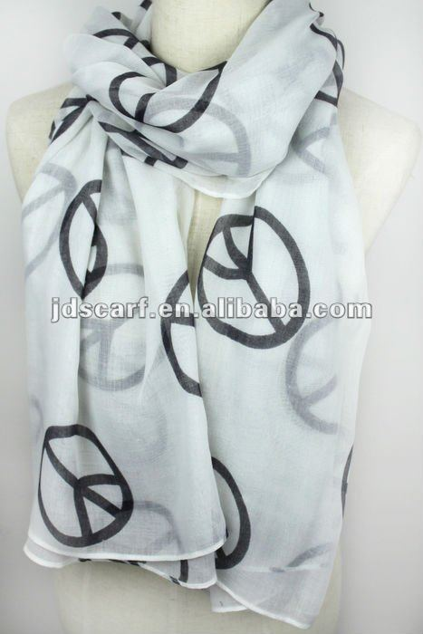 inner tudung voile polyester scarf.(JDY-128 col.12)