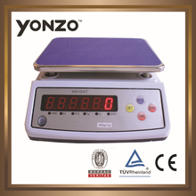 YZ-308 3kg 1g 4v bettery big LED display single weight window electronic weight scale vending machine