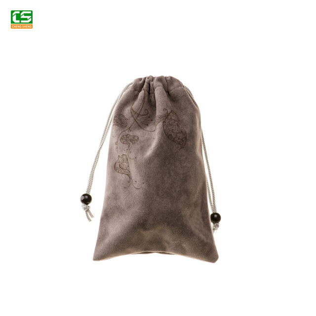 2018 Fashionable Wholesale Large Satin Drawstring Bags Silk Jewelry Pouch