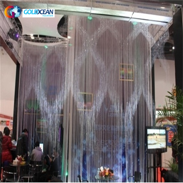Modern Indoor Decorative Digital Water Curtain Fountains