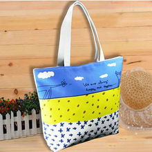 12 OZ Foldable Cotton Canvas Tote Bag Promotion