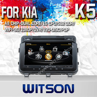 WITSON AUTO RADIO CAR DVD GPS FOR KIA FORTE 2010 WITH A8 DUAL CORE CHIPSET DVR SUPPORT WIFI 3G APE MUSIC BACK VIEW