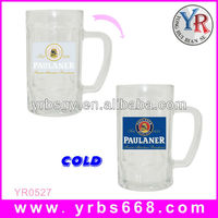 Sublimation beer pint glass mugs with handles