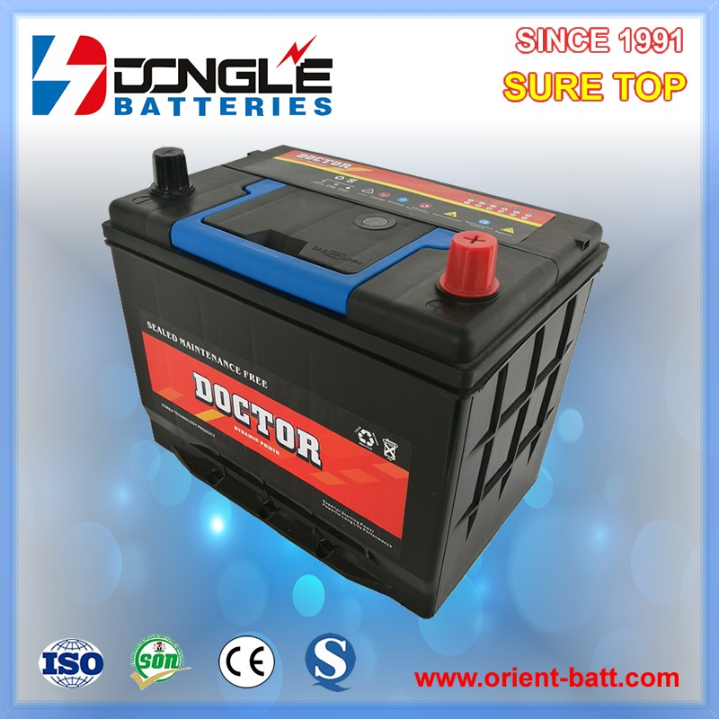 High CCA Super Power car starting n50zl battery 12v 55Ah