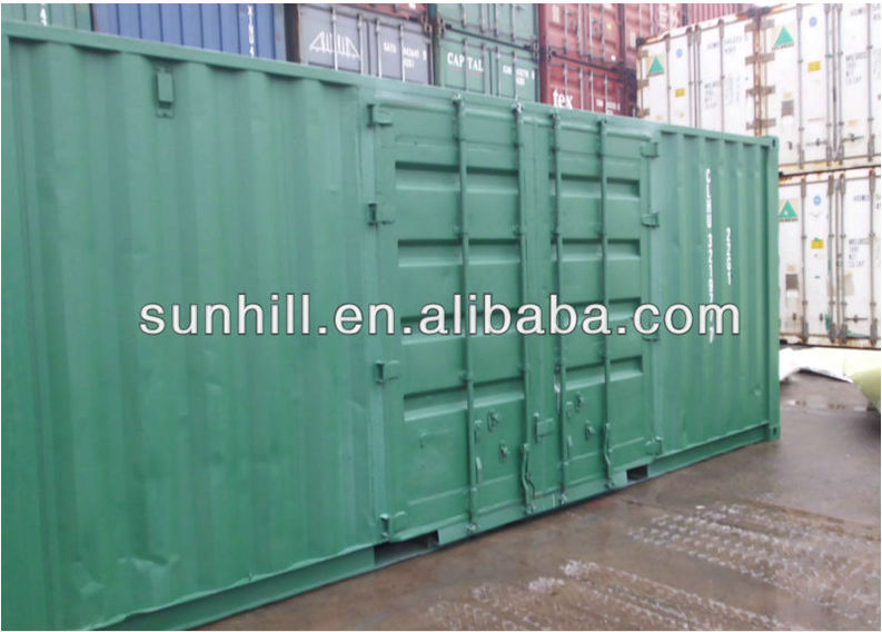 20' Second-hand Side Open Container with Good Water Tightness ISO Standard