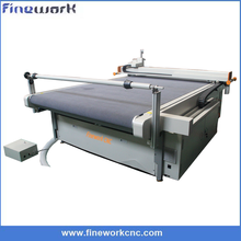 High precision Jinan FW-1625 Automatic Dieless Vibration Knife CNC Fabric Cutting Machine