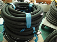 Steel Wire Braided high pressure rubber hose R4