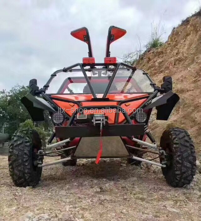 New Arrival Cool Adult 200cc Big Karting ATV Trike, 4 Wheel Oil Cooling All Terrain Country Cross Wings Door ATV Motorcycle