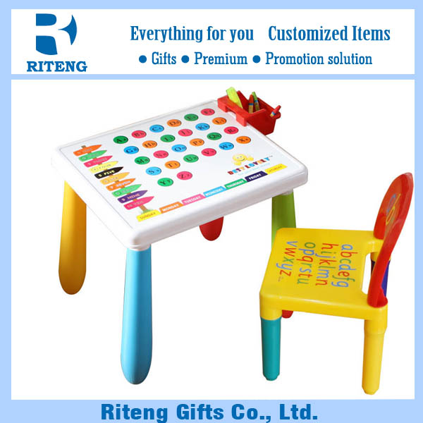 New Design Kindergarten Kids Play Table And Chair Furniture Set