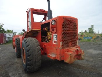 CAT WHEEL LOADER CAT 966C YR: 1972