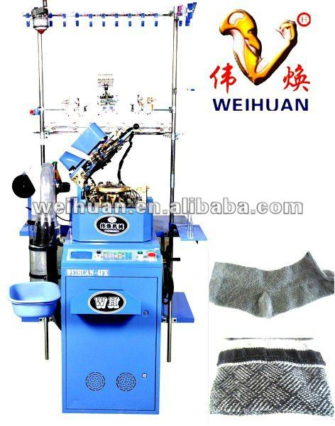 high stability copy double cylinder sock machine for making good quality socks (WH-6F-A3)(3.5 inch)