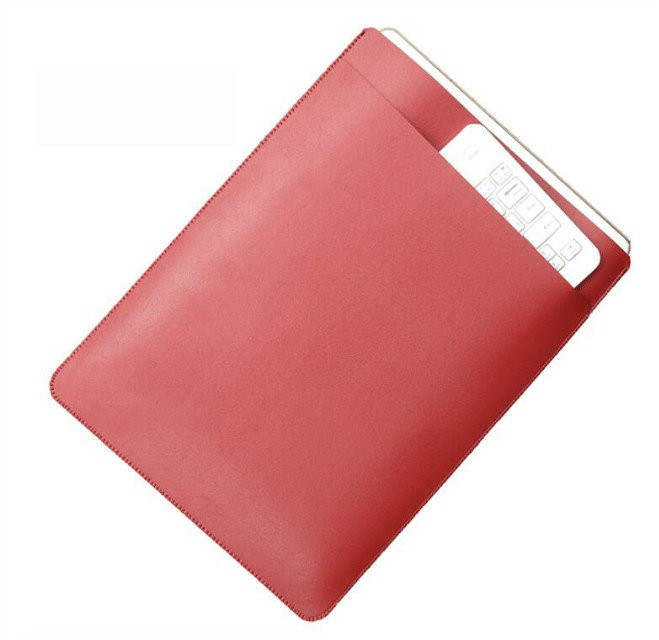 Manufacture wholesale Pouch leather case for iPhone, pouch case for iPad