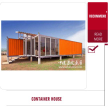 Warm comfortable portble prefabricated container house/ luxury prefab homes