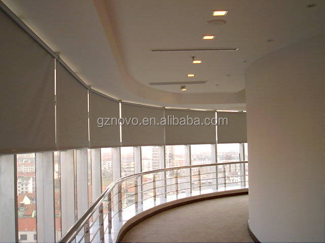 Interior roller blinds AC TUBULAR MOTOR for skylight blind roller blind roller shades and curtain track system with venetians