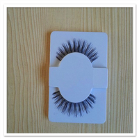 Human hair eyelash extension growth lash sample provided for your test #1 lash glule