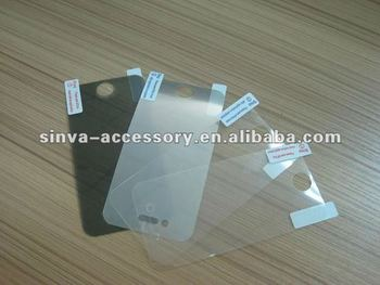 High quality anti-spy screen protector for iPhone4/4s