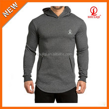 2015 Brand Sweatshirt Men Hoodies Fashion Mens Sports Suit Pullover Men's Sportwear Male Longline Hoodie