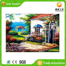Manufacturer Supply 3D Diy Diamond Acrylic Landscape <strong>Pictures</strong>