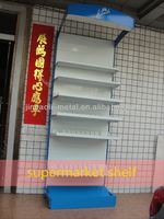 single side free standing supermarket shelf talker