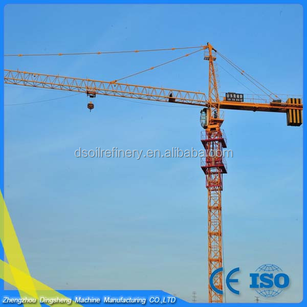Professional supplier yongmao tower crane on sale