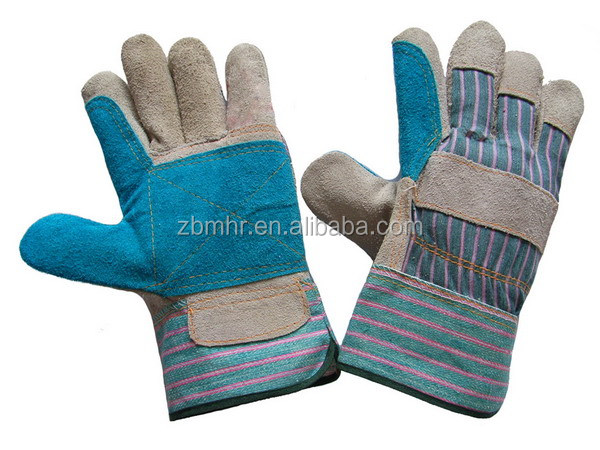Brand MHR Wholesale patch palm chrome leather gloves