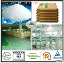 High puirty 99% glycerol monostearate food grade for food additives