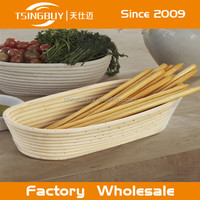Custom made durable plastic proofing basket uk-rattan proofing basket-rattan wicker bread baskets
