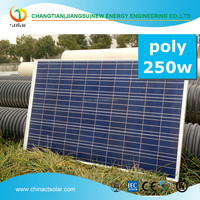 poly solar panel for industry and big 0.5kw solar panel system