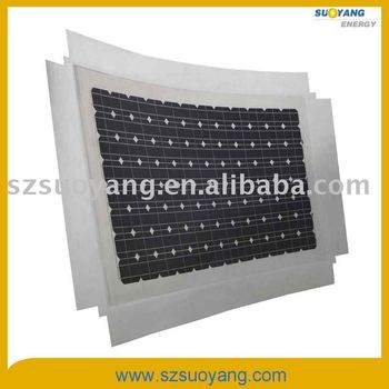 Hight efficiency semi flexible solar panels 330WP