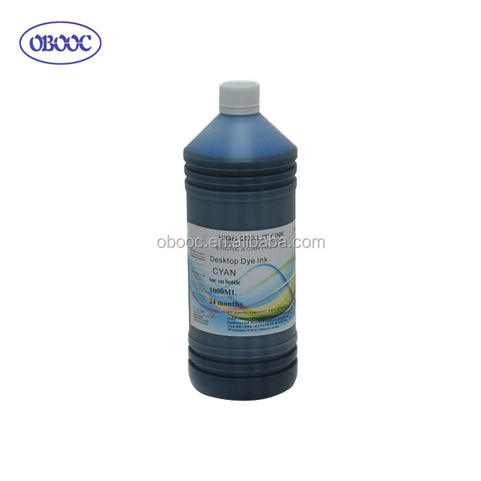 1000ml Refill Dye Ink for Canon Pixma IP1880 With Good Performance